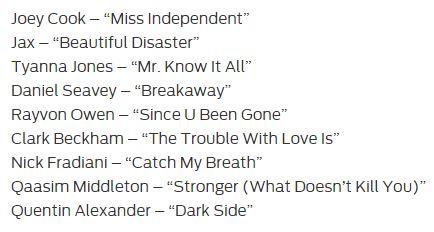 Top08 - Songs